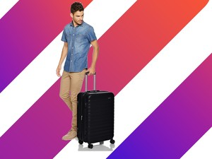 This $61 AmazonBasics Hardside 24-inch Spinner will make travel a breeze
