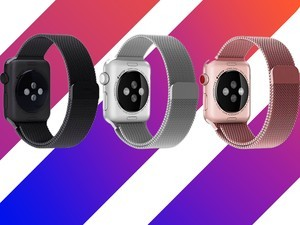 Spruce up your Apple Watch with a fancy replacement band for only $7