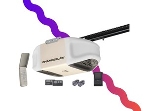 This $132 Chamberlain garage door opener has matched its lowest price