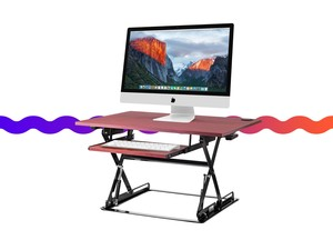 The $94 Halter ED-257 can turn your desk from sit to stand in seconds