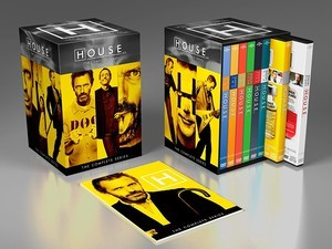 Hunker down and watch the riveting TV series House for $60