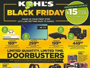 The Kohl's Black Friday 2017 ad is here