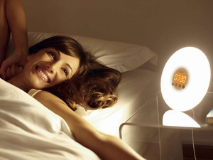 Wake up naturally and on time with the $40 sunrise simulation alarm