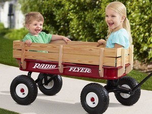 The new and improved $89 Radio Flyer is still the boss of wagons