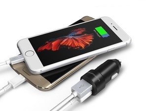 Don't leave home without this $5 two-port car charger