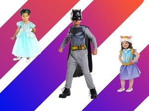 Trick-or-treat for less with Kid's Halloween costumes from $5 at Amazon
