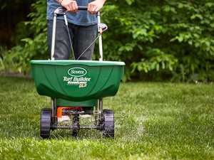 Grab the Scotts deluxe broadcast spreader for just $39 at Amazon