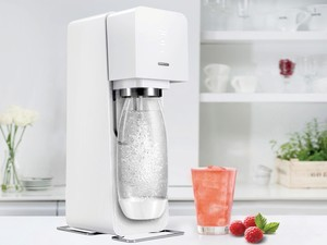 Time to make some flavored bubbly water with the $75 SodaStream Source