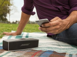 The Bose SoundLink Mini II portable Bluetooth speaker is $150 at Costco