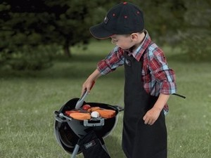 The $40 Theo Klein Weber Kettle Grill Toy is the perfect Christmas gift
