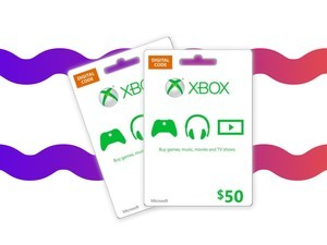 Add to your digital game library with this $50 Xbox gift card for $43