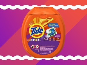 Get up to $5 off on Tide detergent pods and pouches
