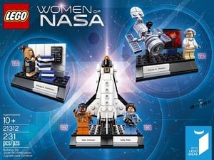 This $25 231-piece Lego set celebrates the women of NASA