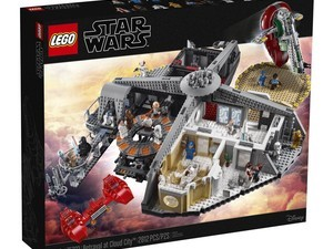Get your first look at the new Lego Star Wars Betrayal at Cloud City set