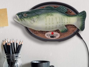 The latest Big Mouth Billy Bass is made to be a rockstar with Alexa support