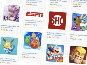 Amazon's Digital Day offers discounted apps, films, Fire tablets & more