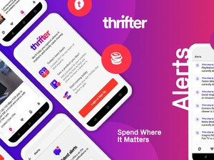 Sign up now to beta test Thrifter's iOS or Android app