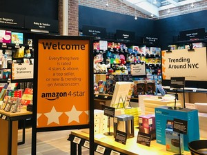 Amazon's 4-star brick-and-mortar store only sells the best products