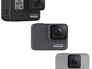 GoPro's three new Hero7 action cameras have 4K and video stabilization