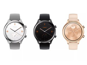 The new Mobvoi TicWatch C2 watch is powered by Wear OS