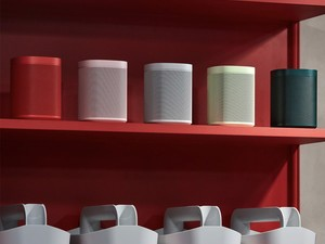The Sonos One will come in five limited edition colors starting Nov. 5