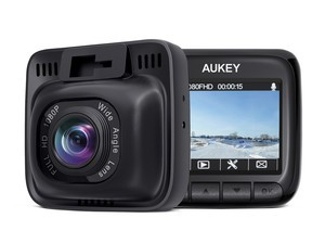 Record everything on the road with this $48 Aukey 1080p dash cam