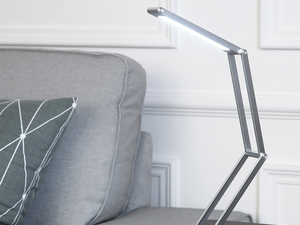 This $17 desk lamp folds up to the size of a phone and recharges via USB