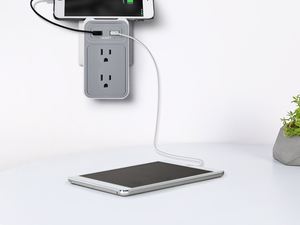Upgrade your home's power connections with Aukey's $11 USB Outlet
