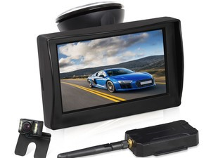 Respect your surroundings with this $69 Auto-Vox Wireless Backup Camera Kit
