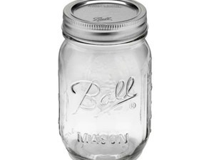 You can score 12 Ball Pint Mason Jars for just $8 right now