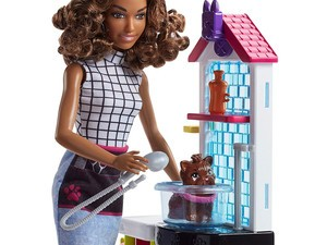 Add this Barbie Pet Groomer set to your Amazon order for $9
