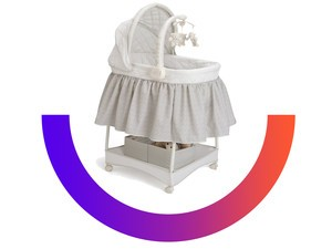 Get the $59 deluxe gliding bassinet for its lowest price in years