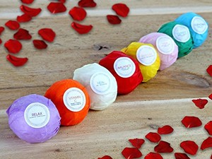 Treat yourself to an 8-pack of bath bombs for $14