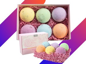 This $11 Anjou Bath Bombs 6-piece Gift Set is perfect for Valentine's Day
