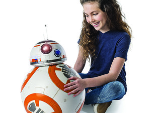 This $129 fully interactive BB-8 droid is one of the largest we've seen on sale