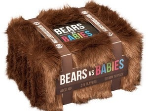 Win the $20 Bears vs. Babies card game by eating more babies than the monster next to you