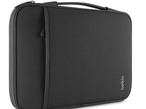 Tote your laptop around in this 13-inch Belkin sleeve
