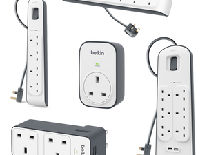 Protect your gear from power surges with discounted Belkin plugs and extension leads