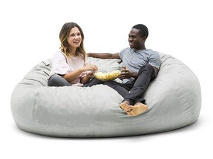 Chill comfortably with this $144 Big Joe Fuf XXL Bean Bag Chair