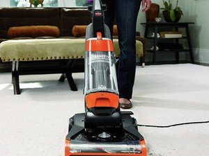 Grab this Bissell upright bagless vacuum cleaner for $60 today only