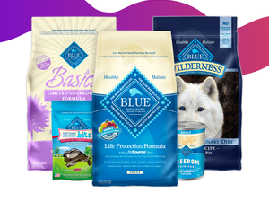 Fill up your pet's bowl with 30% off Blue Buffalo food at Jet