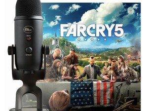 This bundle includes the Blue Yeti USB microphone and Far Cry 5 for just $110
