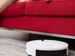 The bObi Classic Robotic Vacuum will clean for you at $110 off its regular price today only