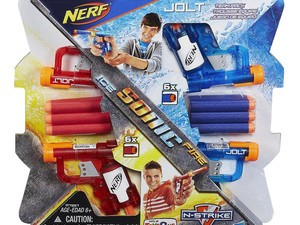 Buy one Nerf gun and get another 50% off at Toys R Us