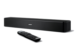 The factory renewed Bose Solo 5 TV sound system is down to $100