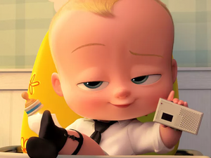 Meet this suit-wearin' infant in Boss Baby on 3D Blu-ray for $15