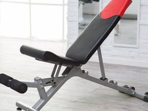Get buff this year with the $169 Bowflex Adjustable Weight Bench