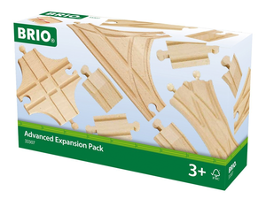 Turn your caboose in a new direction with the $24 BRIO Advanced Expansion Pack