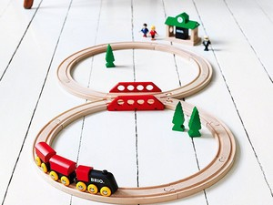This Brio Classic Figure 8 Set is down to only $28