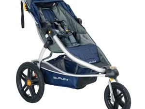 The all-terrain Burley Solstice jogging stroller is down to $250